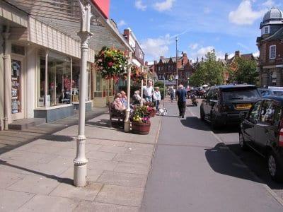 Shopping in Lytham
