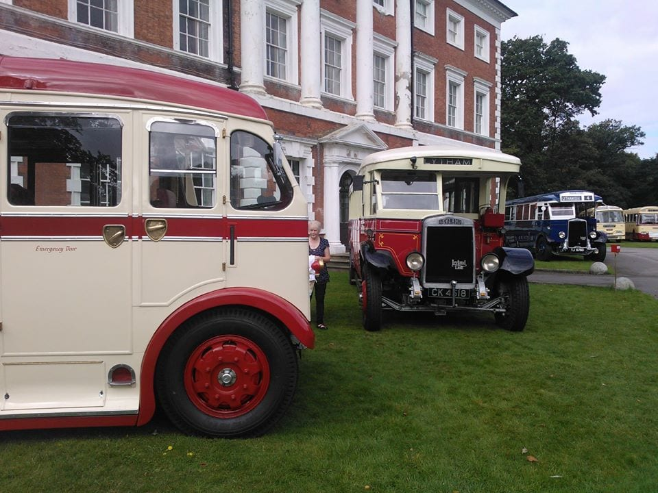 Vintage Buses - what's on at Lytham Hall