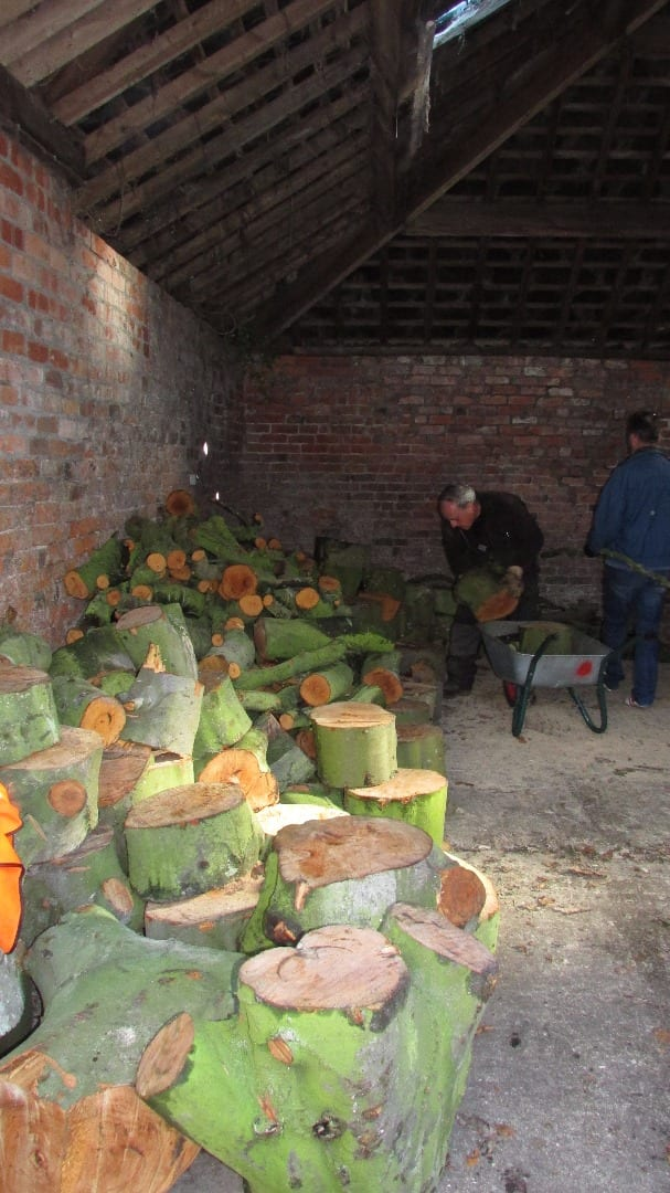 Firewood for sale - what's on at Lytham Hall