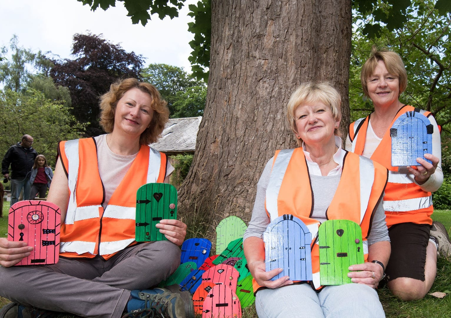 The first team of Secret Door makers - what's on at Lytham Hall