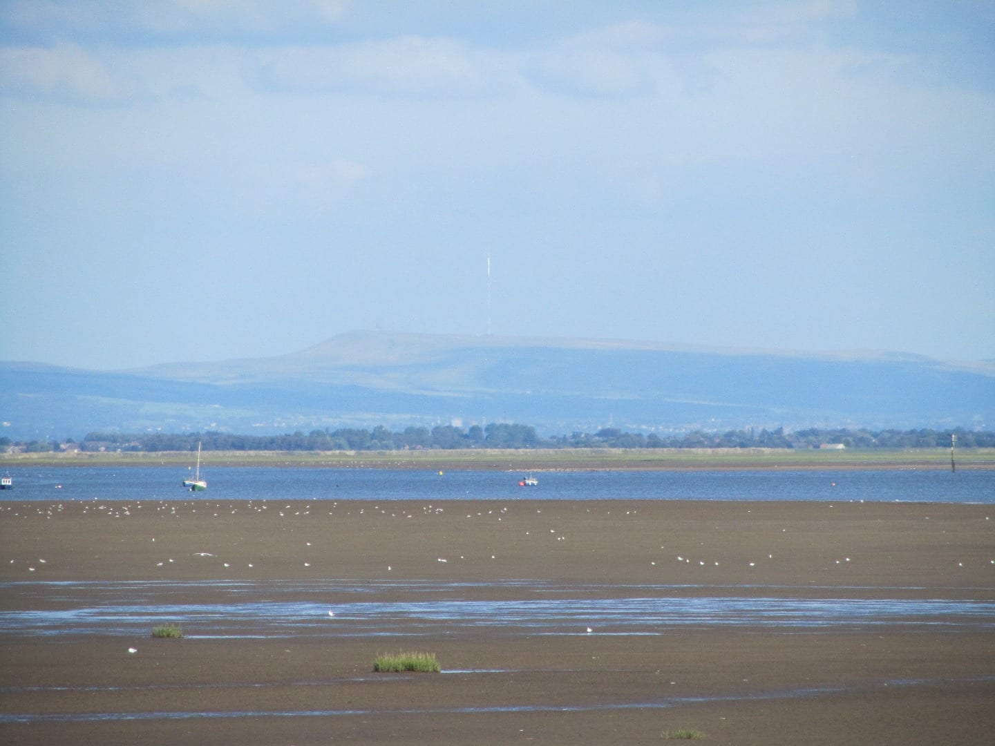 Looking over Formby from Lytham where you'll get great views from the seafront
