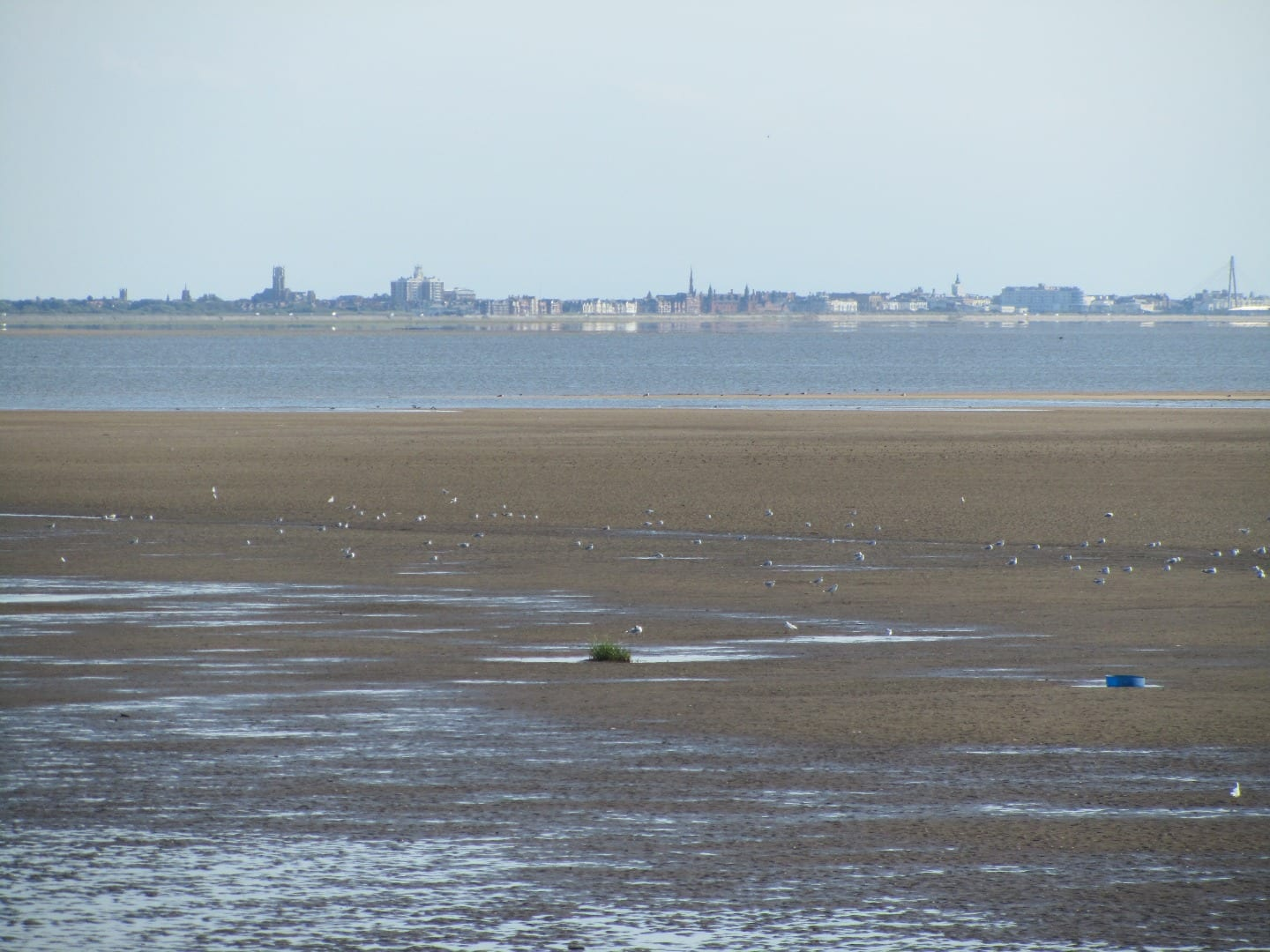 Southport seen from Lytham, one of the amazing views from the seafront